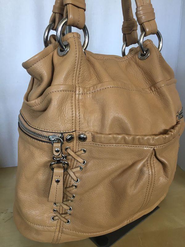 B Makowsky genuine leather tote bag purse retails for $300