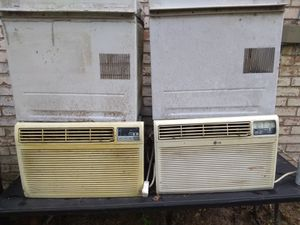 2 - 220 ac window units. $100 gets both. They work great. for Sale in Conroe, TX