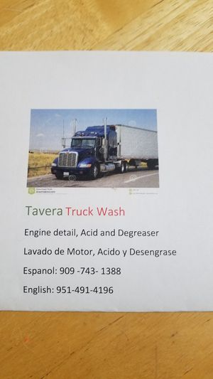TRUCK WASH for Sale in Fontana, CA