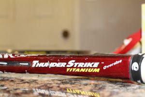 Prince Thunder Strike Titanium Tennis Racket for Sale in Grove City, OH