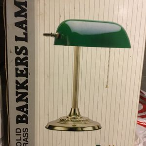 Brass Desk Lamp for Sale in Boonton, NJ