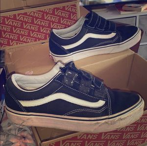 USED VANS SUEDE CANVAS OLD SKOOL MENS SIZE 6 for Sale in Staten Island, NY