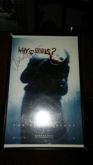 Joker signed Christian Bale for Sale in Fresno, CA