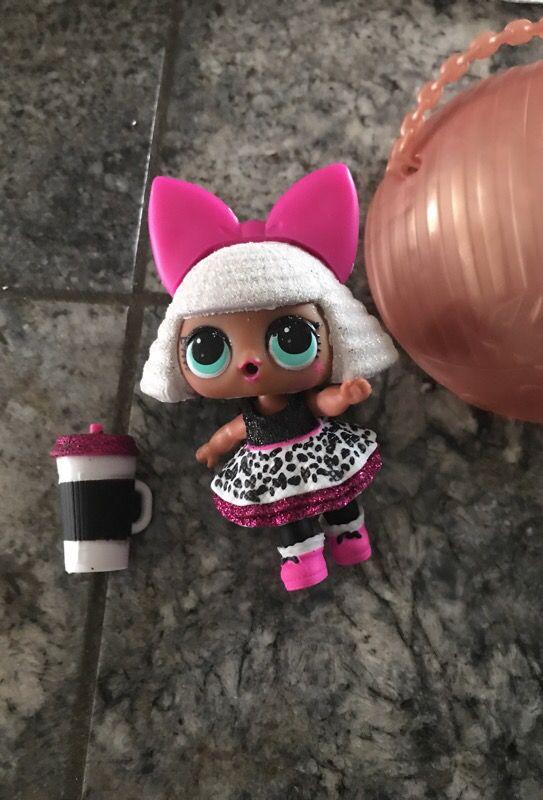Lol surprise glitter doll