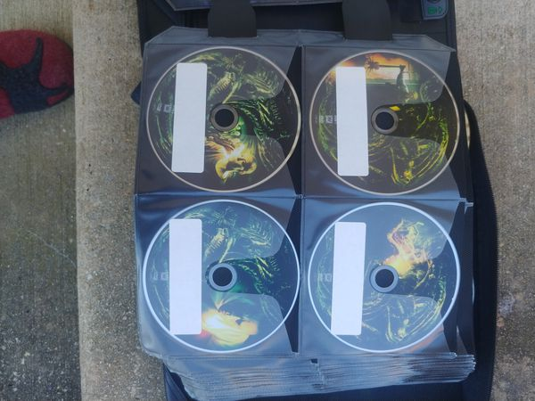 DVD Series Collection All Protected In Case Logic