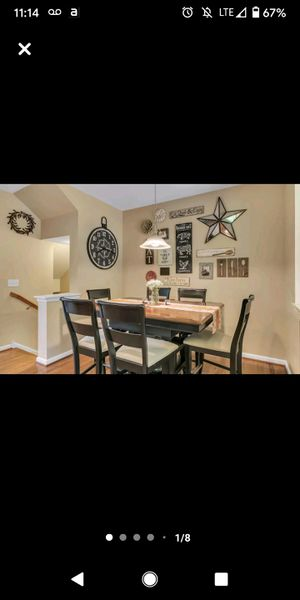 Counter Height Kitchen Table Set for Sale in Tinton Falls, NJ