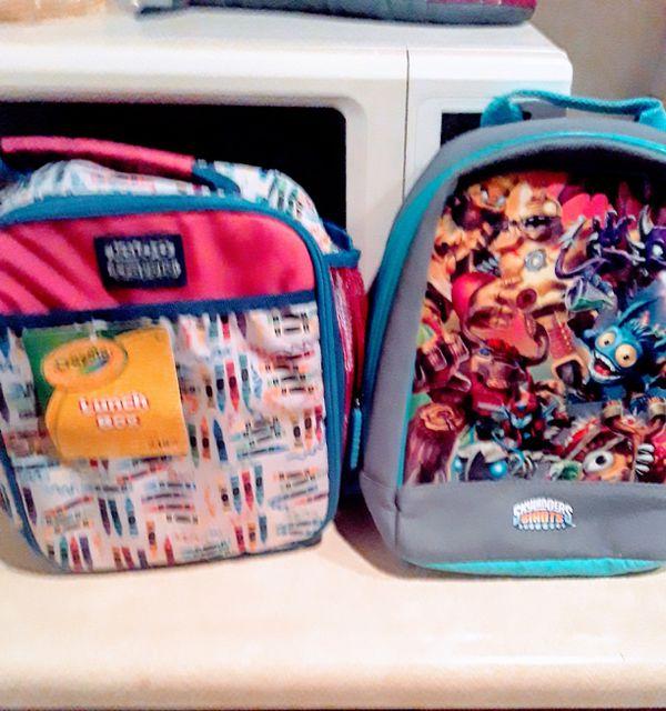Little School Boys Lunchbox Backpack n Mask Combo