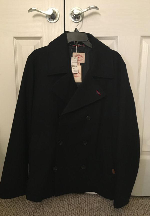 Brooks Brothers Wool Peecoat