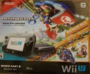 Nintendo Wii U w/ Mario Kart 8 for Sale in Everett, WA