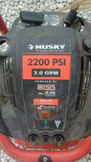 Husky 2200 psi pressure washer for Sale in Tacoma, WA