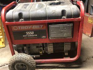 5550 watt generator for Sale in Sugar Grove, OH