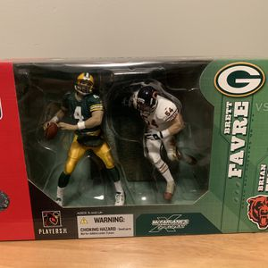 McFarlane 2-pack Brett Fabre Brian Urlacher 7inch Figures for Sale in Plainfield, IL