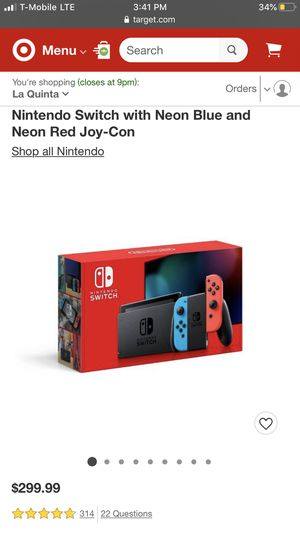 Nintendo Switch and 2 Games for Sale in Wildomar, CA