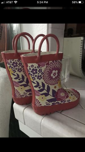 Girl's Rain Boots for Sale in Fresno, CA