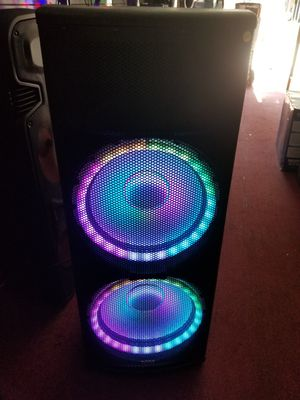 """BOCINAS POTENTE PARA FIESTAS. 2 15"""" LOUD AND POWERFUL BLUETOOTH SPEAKER WITH MICROPHONE for Sale in Los Angeles, CA"""
