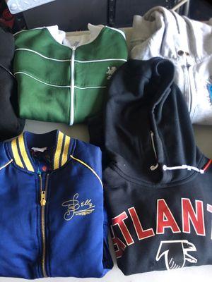 Lot of 17 hoodies n jackets for Sale in Poinciana, FL