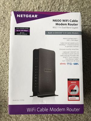 Netgear Modem/Router for Sale in Columbia, SC
