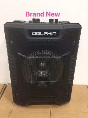 Portable Bluetooth Speaker Rechargeable Battery Party Audio Bocina Corneta Dolphin SP-806RBT for Sale in Miami, FL