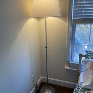 Silver Floor Lamp - Perfect Condition! for Sale in Reston, VA