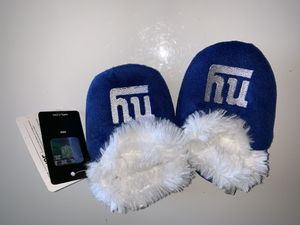 Ny giants nfl baby booties xl for Sale in Killeen, TX