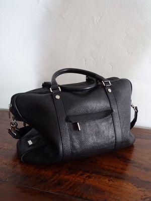 Canali Black Learher Crossbody/Shoulder Bag/Messenger Bag for Sale in Rosemead, CA
