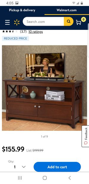 """TV Stand Console Wooden 44"""" for Sale in Chino Hills, CA"""