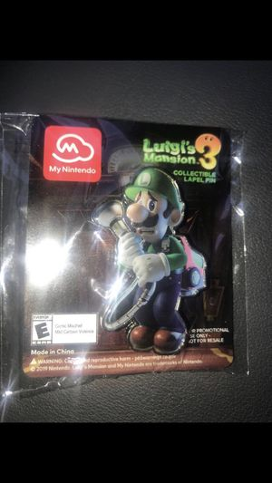 Make An Offer ✅ Exclusive Luigi's Mansion Metal Pin for Sale in Lynnwood, WA