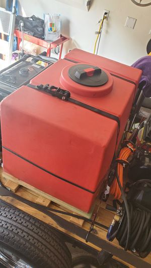 Water tank 100 gallon mobile detail for Sale in Ontario, CA