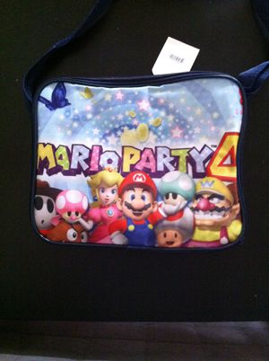 Mario party 4 lunch bag for Sale in Dallas, TX