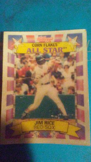 Collectible Jim Rice baseball card for Sale in Greenville, MS