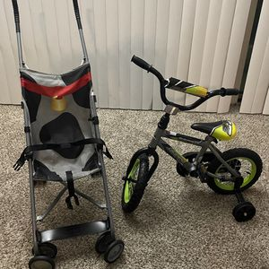 Kids Bike 12 Inches Baby Stroller Free for Sale in St. Peters, MO