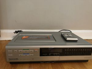 Panasonic VHS Omnivision VCR PV-1231R With Wireless Remote. for Sale in Oradell, NJ