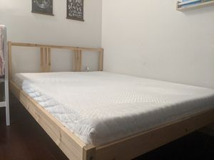 Ikea Full Size Bedframe and Mattress for Sale in Seattle, WA