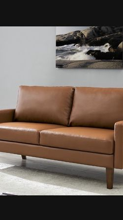 New Modern Loveseat Faux Leather for Sale in Los Angeles,  CA