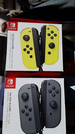 Nintendo joycon controllers Nintendo switch for Sale in Seattle, WA