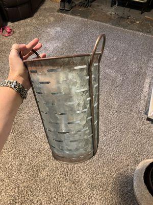 Galvanized bucket for Sale in Bonney Lake, WA