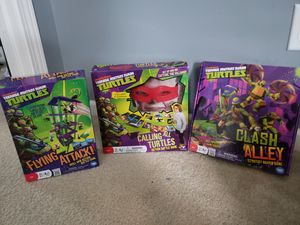 Ninja turtle board games . Battle game new in box for Sale in Canal Winchester, OH