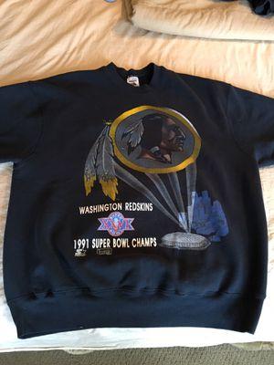 Washington Redskins 1991 Super Bowl champion sweatshirt for Sale in Olney, MD