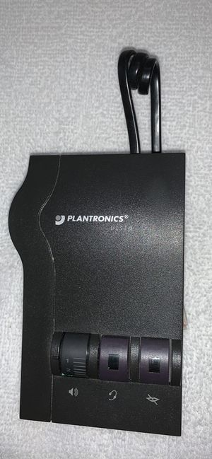 PLANTRONICS VISTA M-12 HEADSET Amplifier headset and cord for Sale in Selinsgrove, PA
