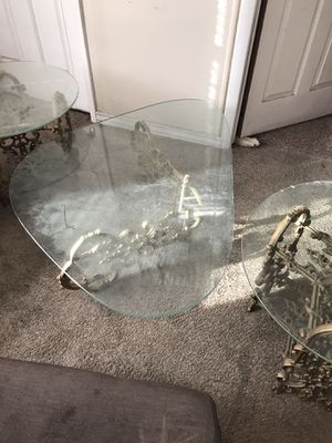 Antiques coffee table and 2 end tables for Sale in Columbus, OH