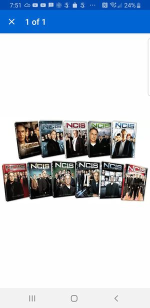 NCIS DVD season 1 to 11 sealed for Sale in Bellerose, NY