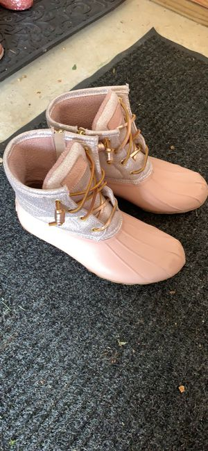 Blush pink Sperry duck boots for Sale in Centreville, VA
