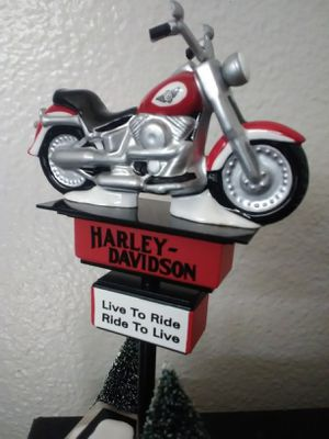 VINTAGE HARLEY DAVIDSON DECORATIVE MOTORCYCLE for Sale in Chino Hills, CA