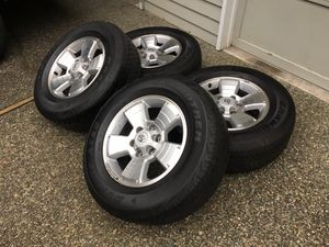 265/65/17 Tacoma Wheels and Tires for Sale in Seattle, WA