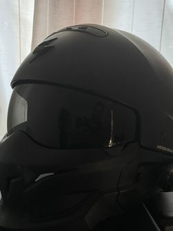 Scorpion Covert Helmet And Cardo Freecom 4 Headset With JBL Sound for Sale in Fresno,  CA