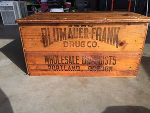 Antique coffee table from Portland for Sale in Portland, OR
