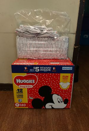 Newborn Huggies diapers for Sale in Gaston, SC