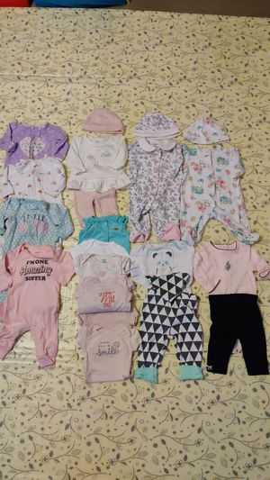 3 month baby girl clothing lot for Sale in Philadelphia, PA