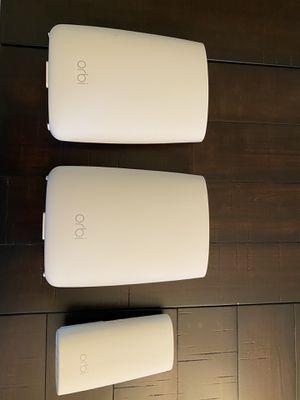 Orbi Mesh WiFi System - 6,000 Sqft Coverage for Sale in Leesburg, VA