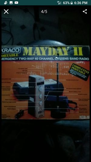 Vintage two way radio..new!!! for Sale in Downey, CA